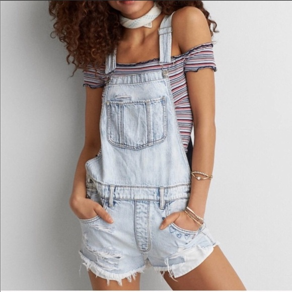 American Eagle Outfitters Denim - America eagle 🦅 overalls